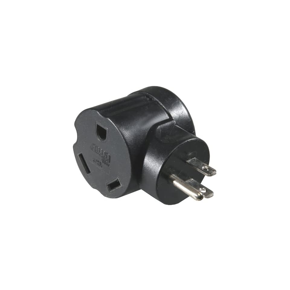 Arcon 14081 Generator Power Adapter 30 Amp Female to 15 Amp Male 90 Degree