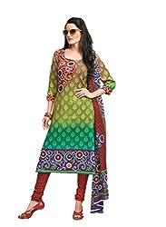 Design Willa Cotton Dress Material Saree (DW0276)