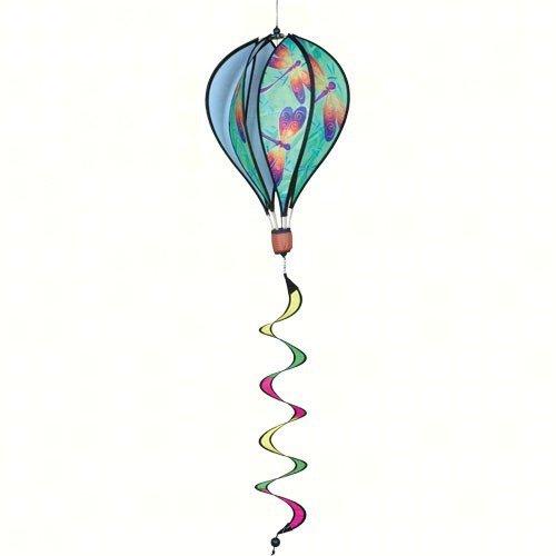 Premier Designs Premier Designs 16 in. Dragonflies Hot Air Balloon Wind Spinner, Nylon