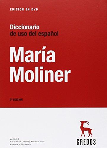 DICCIONARIO DE USO DEL ESPAÑOL MARIA MOLINER  descarga pdf epub mobi fb2