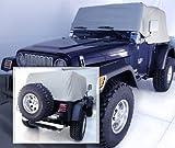 Jeep 92-06y  TJ・YJ ラングラー 防水ハーフボディカバー