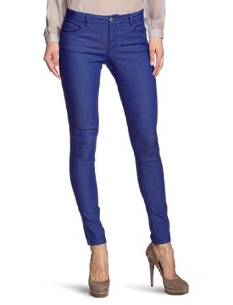 ONLY Damen Skinny Jeanshose Normaler Bund 15071626/Regular Ultimate Colour Noos, Gr. 34/34 (XS), blau (MAZARINE BLUE)
