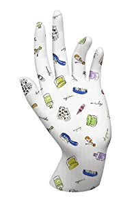 ACCESSORIES GLOVES Malcolm's Miracle Moisture Jamzz Moisturizing Gloves - Made in the USA with Biodegradable Packaging! (BEAUTY ACCESSORIES PATTERN)