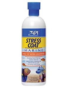 API Stress Coat Marine Water Conditioner, 16-Ounce