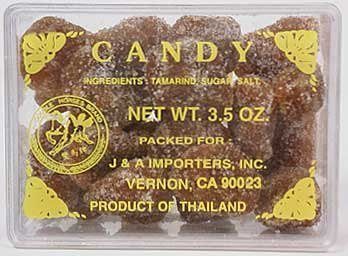 Thai Tamarind Candy - 3.5 oz box