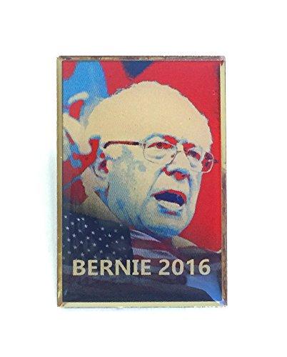 Metal Lapel Pin Bernie 2016 - Presidential Candidate Design