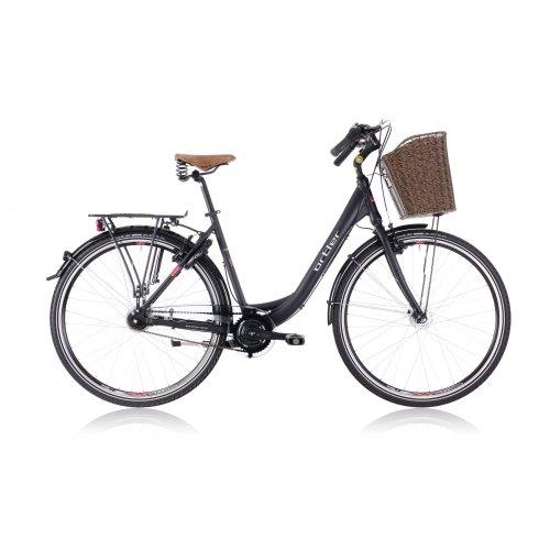 Ortler Rembrandt Damen, black matte black (2013) (Frame size: 50 cm) Ladies 9 speed city bike