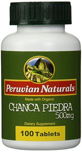 Peruvian Naturals Organic Chanca Piedra 500mg - 100 Tablets
