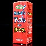 [2CS] エルビー 濃縮還元アップル果汁100%ジュース (200ml 紙パック×12本)×2箱