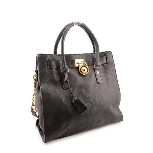 2e661959f50e Michael Kors Hamilton Women s Large Tote Handbag Bag Purse North South