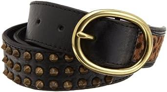 Joe's Jeans Women's Pointer Belt, Black, Small