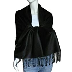 Solid Color 100% Twill Pashmina Scarf Shawl Wrap-Various Colors