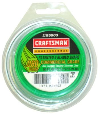 Craftsman Trimmer Line 50Ft .080 Diam 7185903