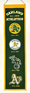 MLB Oakland Athletics Heritage Banner