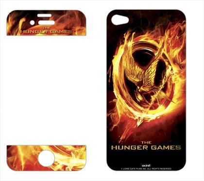 Skinit The Hunger Games Logo Vinyl Skin for Apple iPhone 4 / 4S
