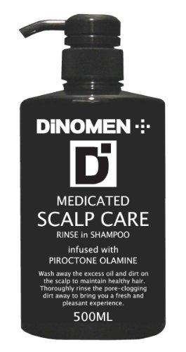 DiNOMEN 薬用スカルプケア リンスインシャンプー500ml (医薬部外品)