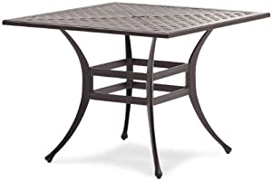 Strathwood Bainbridge Cast Aluminum Dining Table