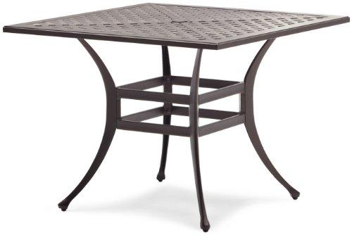 Aluminum Dining Table Strathwood Bainbridge Cast Aluminum Dining Table
