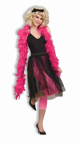 Woman's 80's Pop Star Skirt, Black, One Size Costume