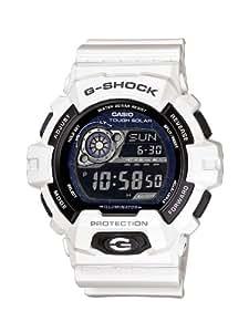 Casio - GR-8900A-7ER - G-Shock - Montre Homme - Quartz Digital - Cadran Noir - Bracelet Résine Blanc