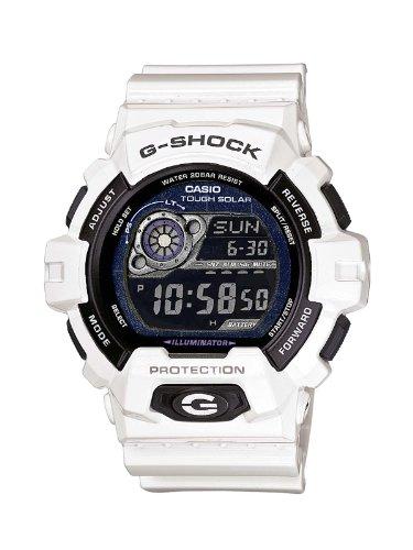 Casio GR-8900A-7ER Orologio Digitale da Polso da Uomo, Resina, Bianco