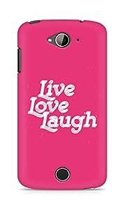 Amez Live Love Laugh Back Cover For Acer Liquid Z530