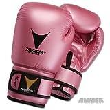 Proforce Thunder Boxing Gloves - Pink Metallic