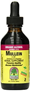 Nature's Answer Mullein Leaf with Organic Alcohol, 2-Fluid Ounces