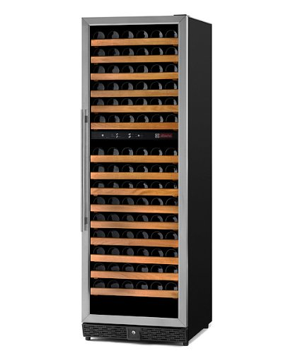 The Allavino MWR-1682-SSR Dual-Zone Wine Cellar Refrigerator is the most complete option for in-home wine storage on the market
