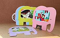 HPK for 5 Inch Film 10 Different Colorful Elephant Cute Film Decor Borders Xk03