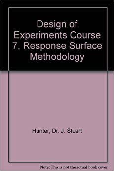 response surface methodology book pdf