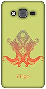The Racoon Grip printed designer hard back mobile phone case cover for Samsung Galaxy On7. (Virgo)