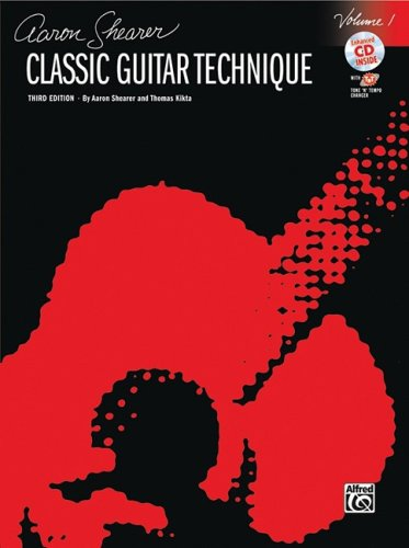 Classic Guitar Technique, Vol 1 (Book & CD) (Shearer...