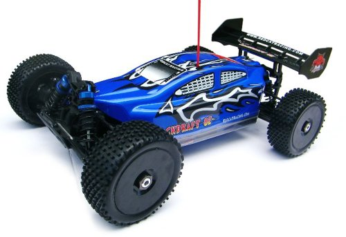 Redcat Racing Backdraft 8E Brushless Electric Buggy, Blue, 1/8 Scale