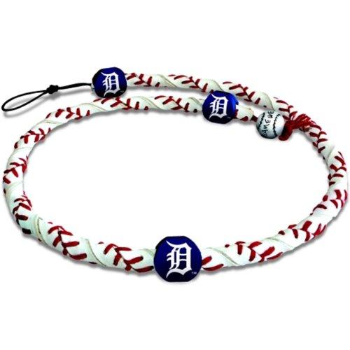 MLB Detroit Tigers Classic Frozen Rope Baseball Bracelet