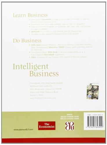 Intelligent Business Intermediate Teachers Book and Test Master CD-ROM Pack: Intermediate Teacher's Book Pack