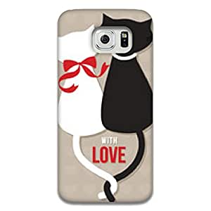 Mott2 CatCouple Back cover for Samsung Galaxy Note 5 Edge (Limited Time Offers,Please Check the Details Below)