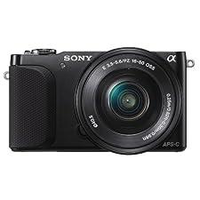 Sony NEX-3NLB Systemkamera, 16 MP