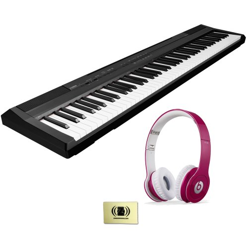 Casio Privia Px-150 Digital Piano Bundle With Beats By Dr. Dre Solo Hd On-Ear Headphones (Bubble Gum Pink) And Custom Designed Zorro Sounds Instrument Cloth