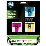 HP ORIGINAL CB333EE 363 Tinte Tintenpatronen Druckerpatronen 3-pack cyan magenta yellow Vivera HP Photosmart 3210, 3310, 3310xi, C5180, C6180, C6280, C7180, C7280, D6160, D7160, D7360