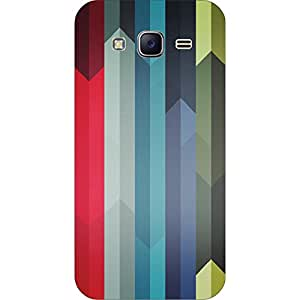 RD Digital Printed Designer Back Cover for Samsung J5 (Multi-color)