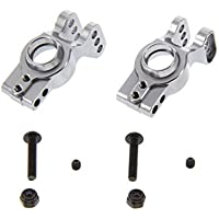 GPM Racing Alloy Rear Hub Set For 1:10 Axial EXO, Grey