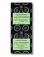 APIVITA Express Beauty with Cucumber Masks 2 x 8ml