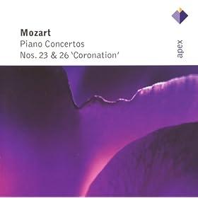 Mozart : Piano Concertos Nos 23 & 26, 'Coronation' - Apex
