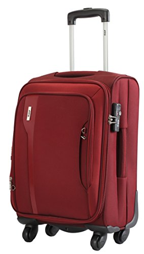 Vip VIP Tuscany II Polyester 68 Cms Maroon Strolly (STTUSW67MRN) Medium Luggage