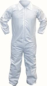 SAS Safety 6804 Tyvek Protective Coveralls, Extra Large
