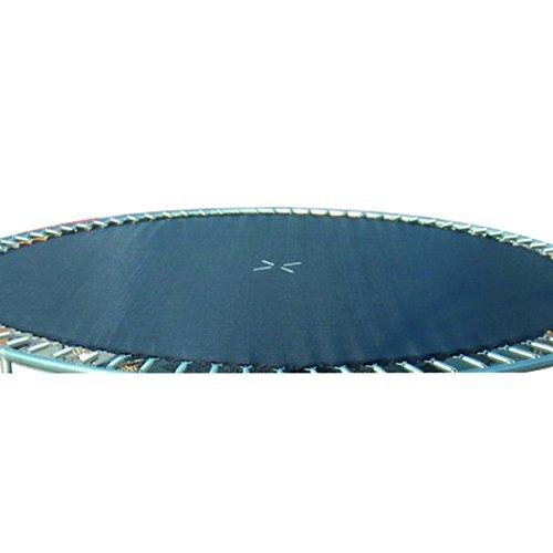 Trampolin Sprungmatte 4,6m 15ft 108Ösen schwarz Sprungtuch Ersatz -