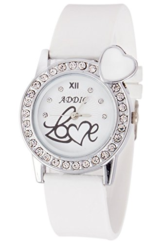 Addic Analogue White Dial Watch for Women, Girls CosmicWW24
