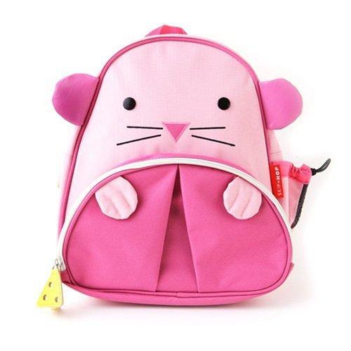 Skip Hop Zoo Pack Little Kid Backpack, Mouse
