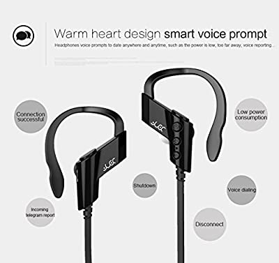 Actionpie Wireless Sports Bluetooth V4.1 Headphones Sweatproof Running Exercise Stereo with Mic Earbuds Earphones for Iphone 6/6s Plus Galaxy S6 and Android Phones